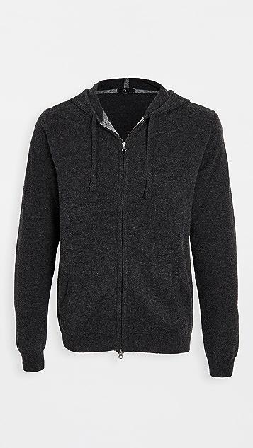 RAILS Ryder Lightweight Wool Full Zip Hoodie