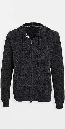 RAILS - Ryder Lightweight Wool Full Zip Hoodie