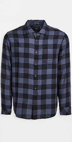 RAILS - Wyatt Button Down Buffalo Plaid Shirt