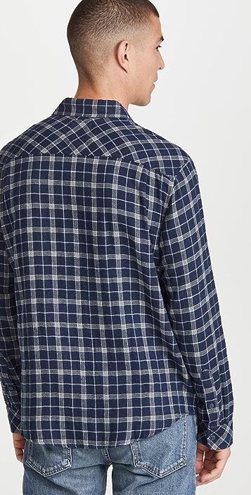 RAILS Brushed Lennox Button Down Plaid Shirt