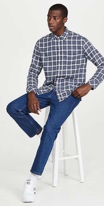 RAILS Brushed Lennox Button Down Shirt