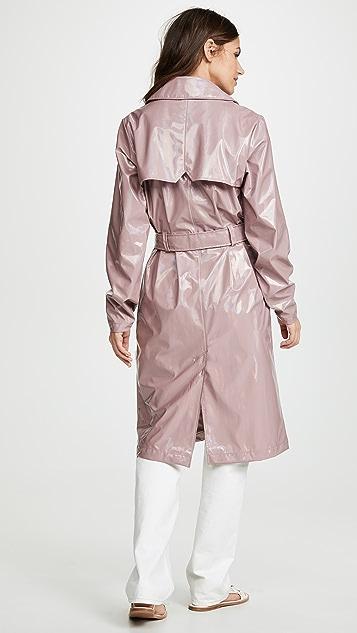 Rains Голографическое пальто