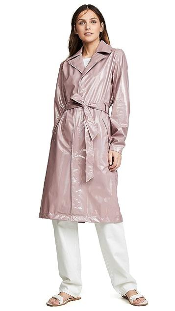 Rains Holographic Overcoat