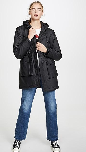 Rains 带衬垫派克大衣