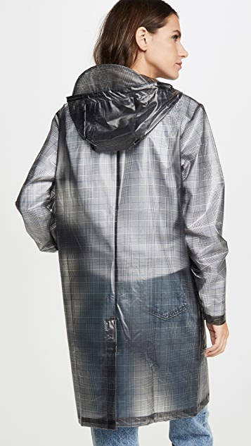 Rains Check Hooded Trench