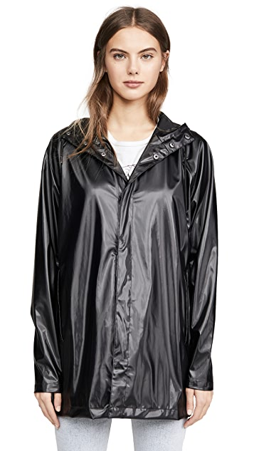 Rains 短款雨衣
