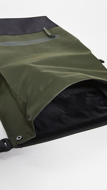 Rains Buckle Rolltop Backpack
