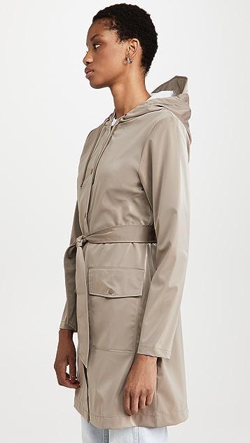 Rains 腰带夹克