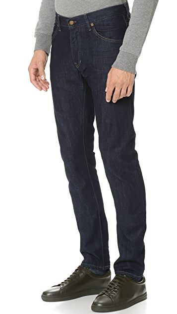 Raleigh Denim Martin Slim Taper Resin Rinse Jeans