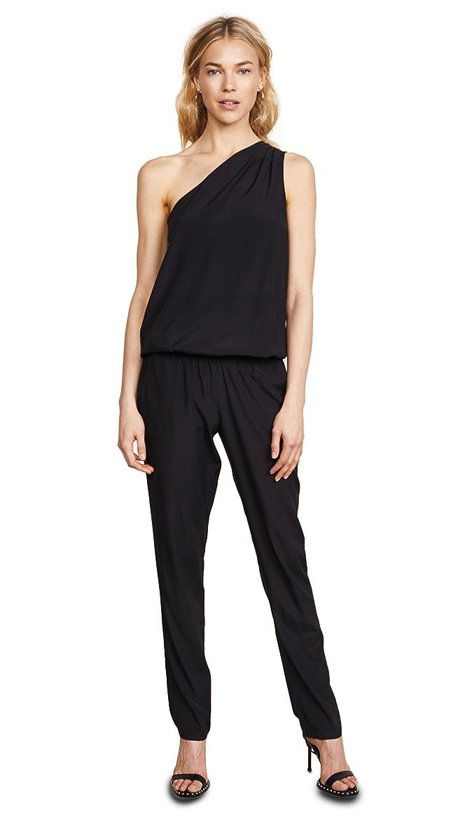 Ramy Brook Lulu One Shoulder Jumpsuit Shopbop