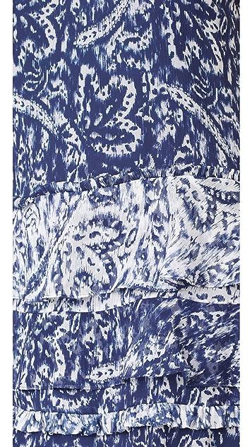 Ramy Brook Brush Stroke Printed May Dress