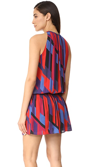 Ramy Brook Ibiza Geo Printed Sleeveless Paris Dress