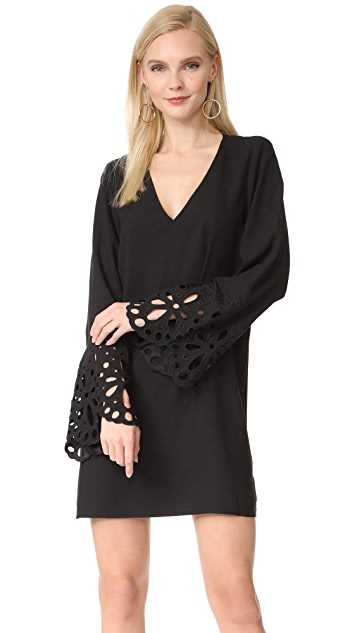 Ramy Brook Remi Embroidered Dress