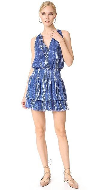 Ramy Brook Ibiza Dot Printed Annabelle Skirt