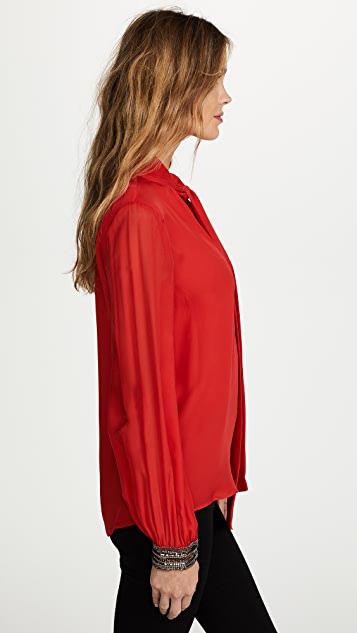 Ramy Brook Cami Embellished Cuff Blouse
