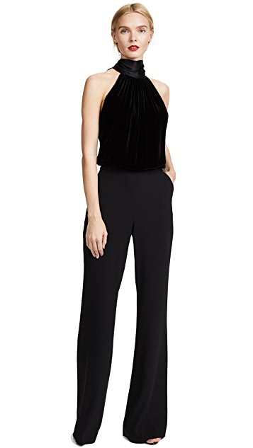 Ramy Brook Paige Velvet Jumpsuit