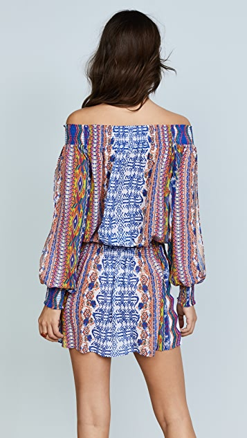 Ramy Brook Printed Lucia Dress