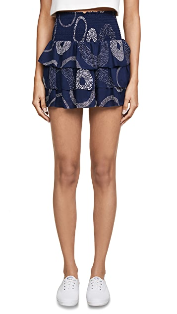 Ramy Brook Printed Annabelle Miniskirt