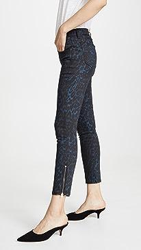 Printed Kate Jeans