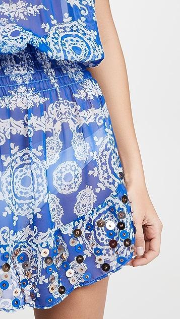 Ramy Brook Платье Marcie с декоративной отделкой