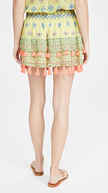 Ramy Brook Printed Behati Skirt