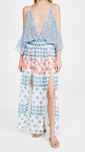Ramy Brook Printed Kaya Dress