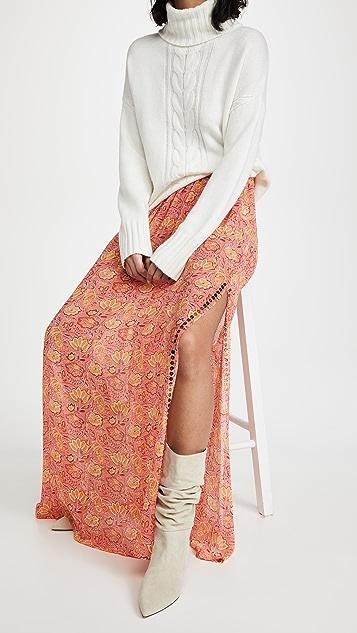 Ramy Brook Darya 印花罩衫半身裙
