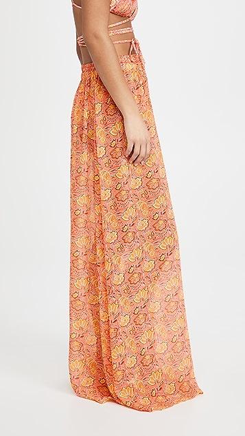 Ramy Brook Printed Darya Cover Up Skirt