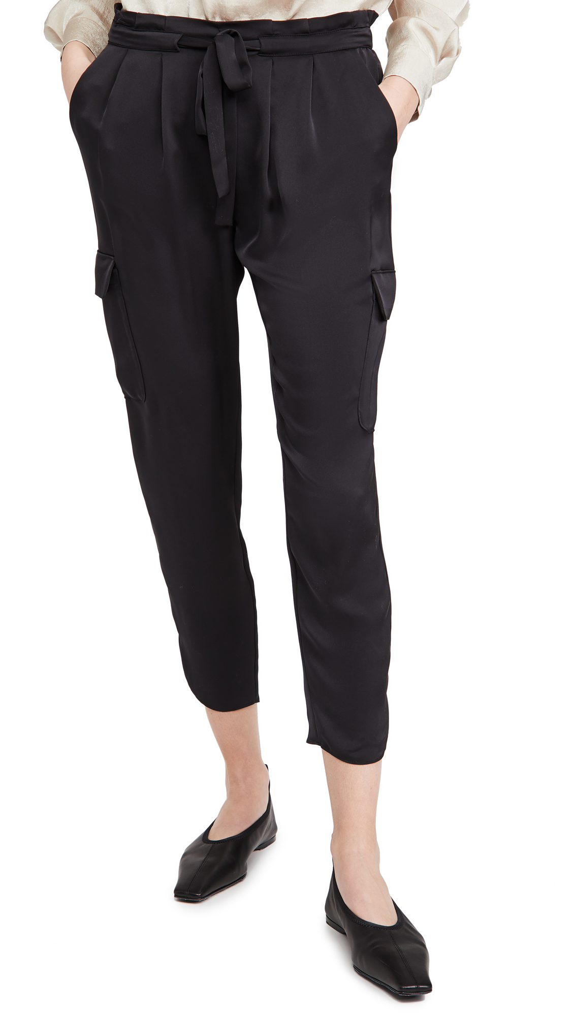 Ramy Brook Satin Pocket Allyn Pants