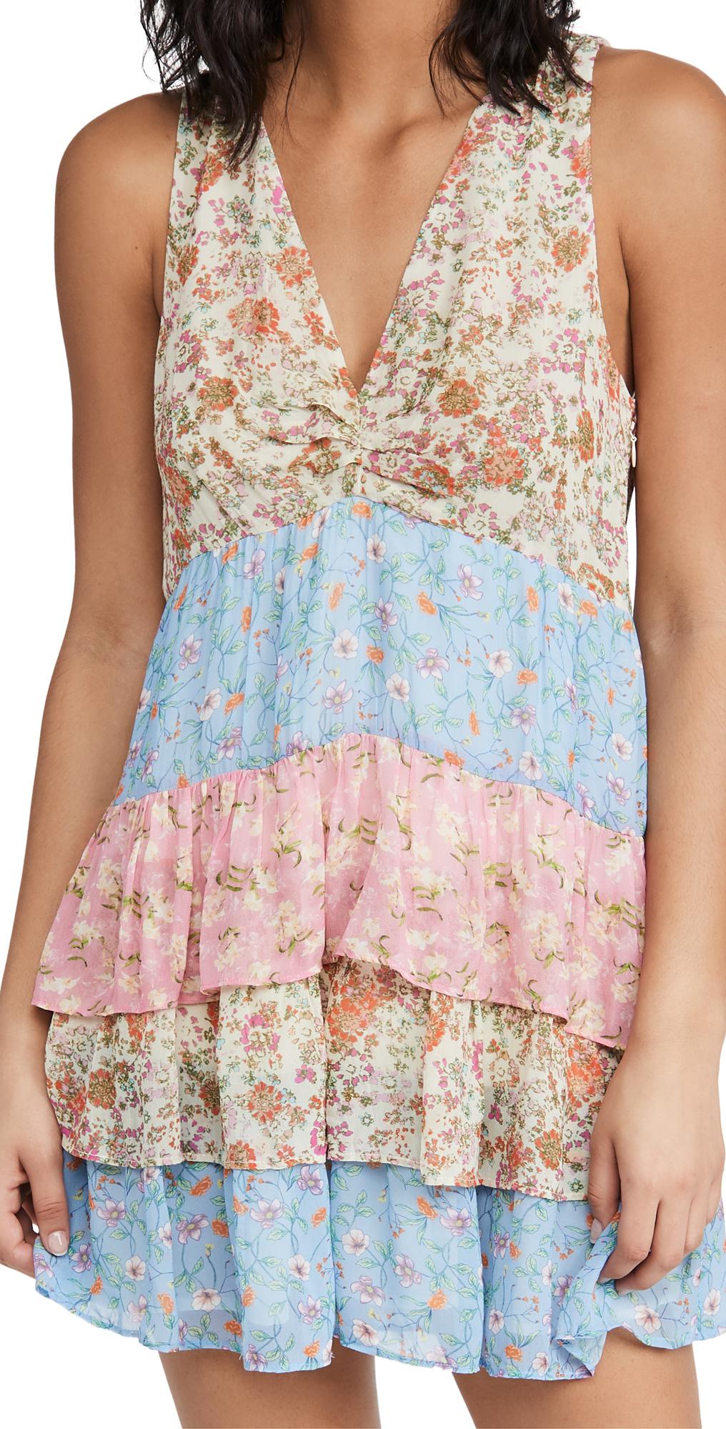 Ramy Brook Mini dresses PRINTED GIGI DRESS