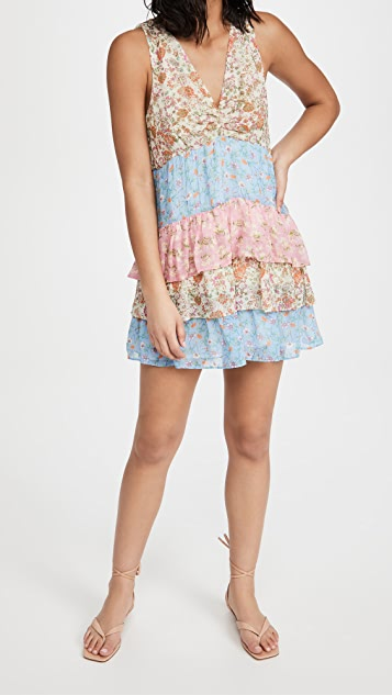 Ramy Brook Printed Gigi Dress