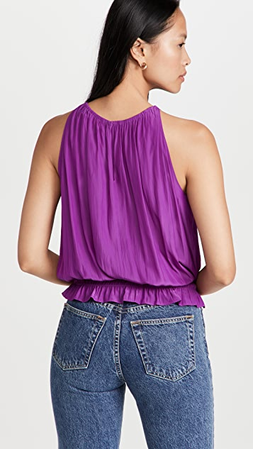 Ramy Brook Lauren 无袖女式衬衫