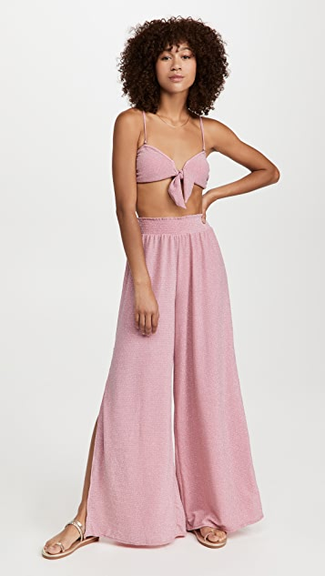 Ramy Brook Knit Venus Bikini Top