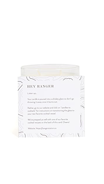 Ranger Station Scent No. 005 Tobacco + Musk Candle