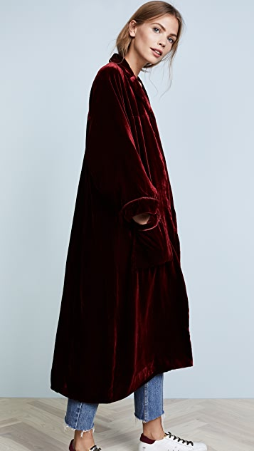 Rachel Antonoff Babette Velvet Robe
