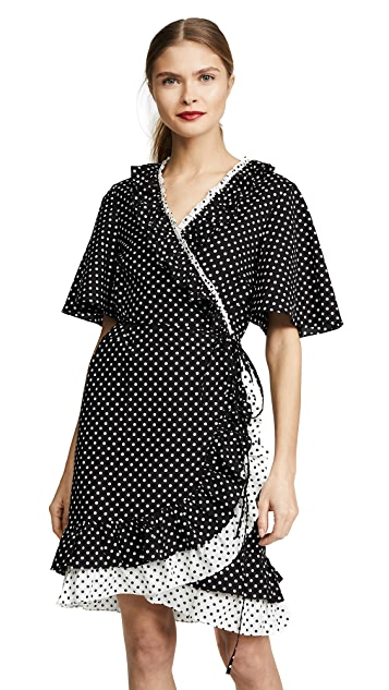 Rachel Antonoff Diana Ruffle Wrap Dress