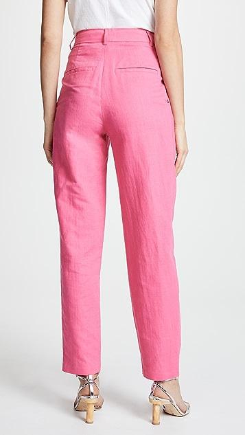 Rachel Antonoff Bea Pleated Suit Pants