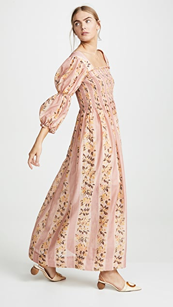 Rachel Antonoff Clark Smocked Dress