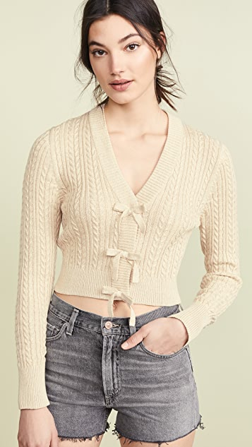 Rachel Antonoff Sosia Cropped Cardigan