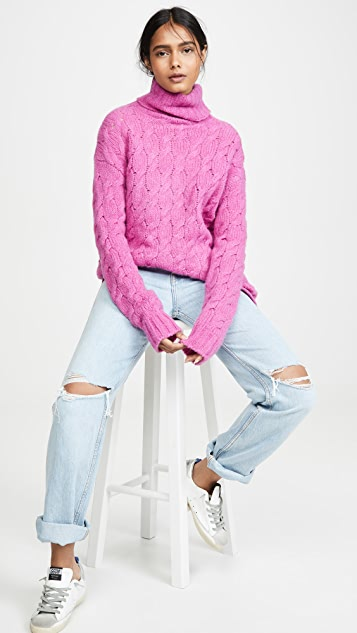 Rachel Antonoff Deborah Cable Turtleneck