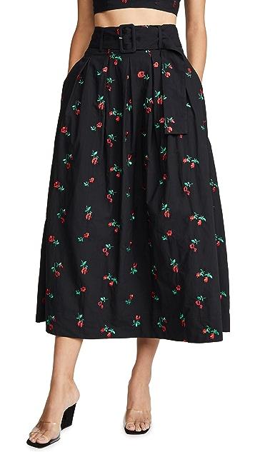 Rachel Antonoff Vinita 裥褶半身裙