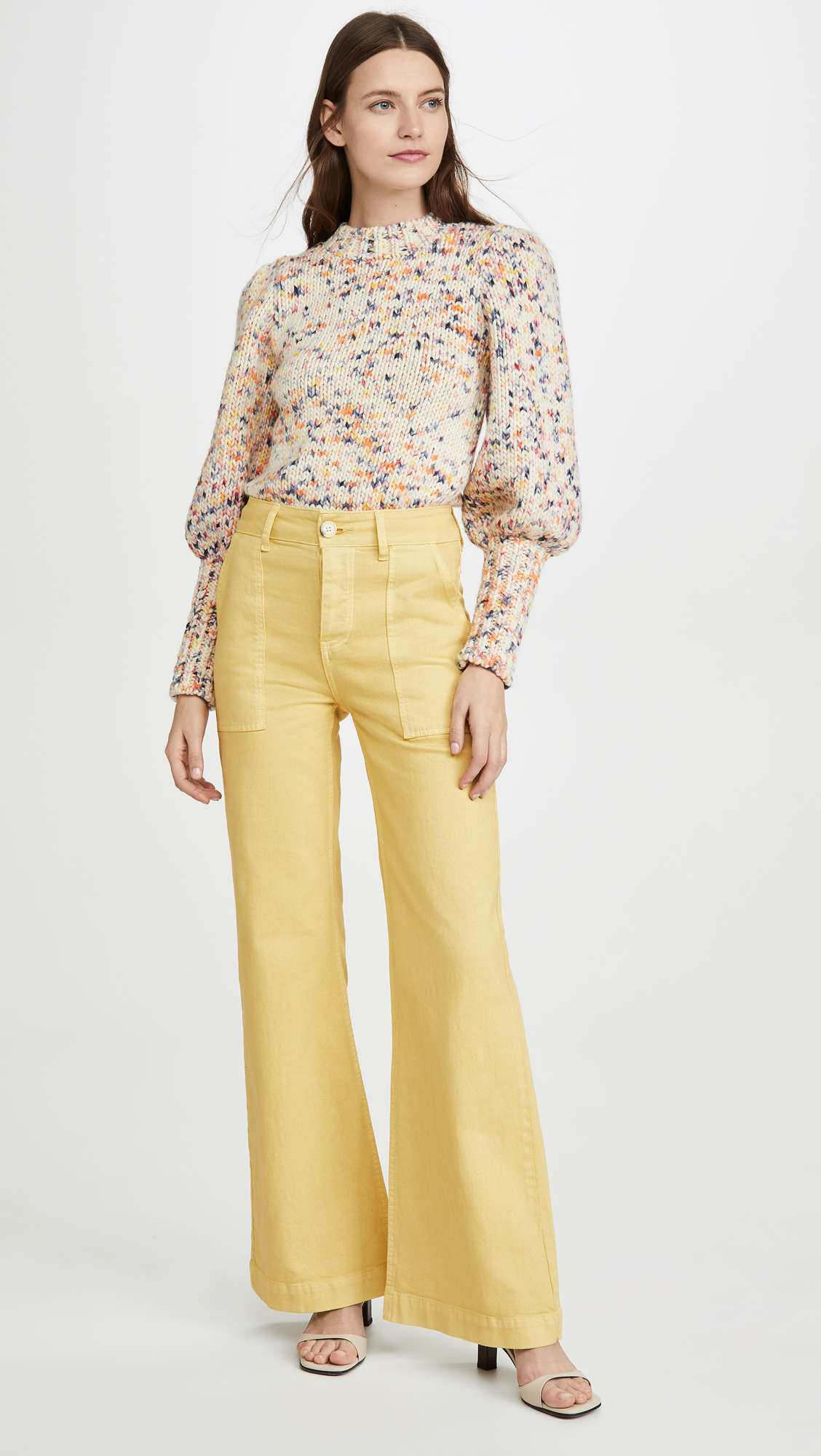Rachel Antonoff Mike Wide Leg Pants