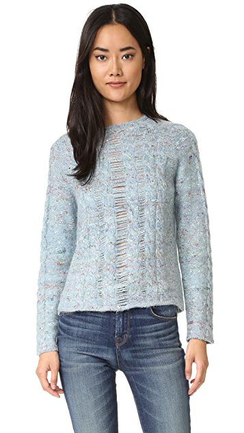 Raquel Allegra Cable Knit Pullover