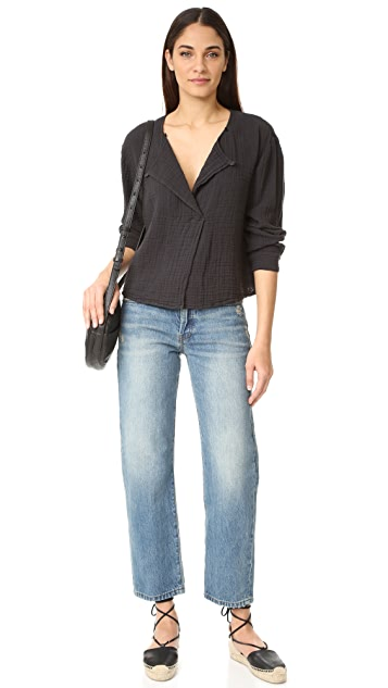 Raquel Allegra Boxy Day Blouse