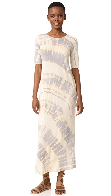 Raquel Allegra Short Sleeve Maxi Dress