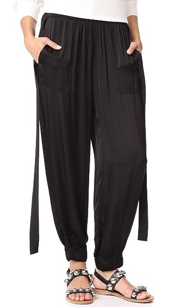 Raquel Allegra Deconstructed Tuxedo Pants