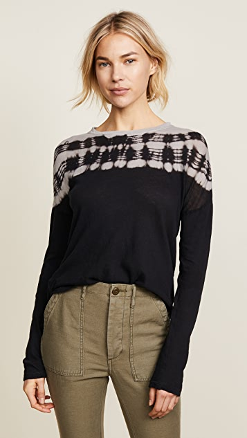 Raquel Allegra Long Sleeve Basic Tee