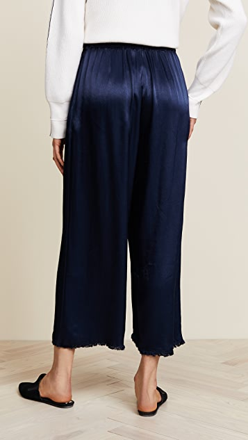 Raquel Allegra Paper Bag Pants