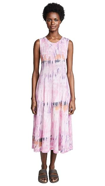Raquel Allegra Big Sweep Midi Dress