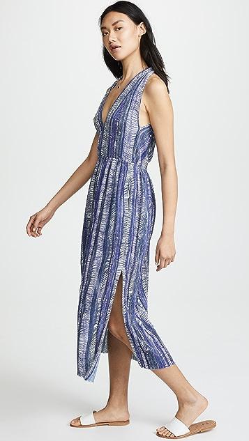 Raquel Allegra Gauze Twist Dress